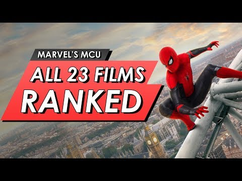 All 23 Marvel MCU Movies Ranked From Worst To Best | NO SPOILERS