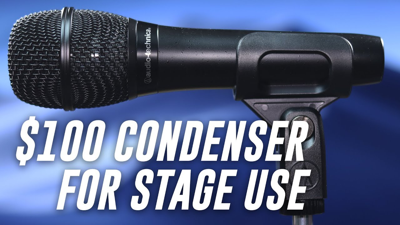 audio technica at2010 condenser mic review test youtube. Black Bedroom Furniture Sets. Home Design Ideas
