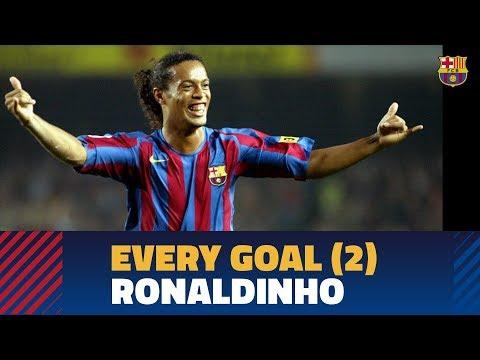 GOALS COMPILATION PART 2 | Ronaldinho (2005-2008)