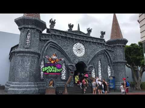 Scooby Doo Spooky Coaster Next Generation POV (2018)