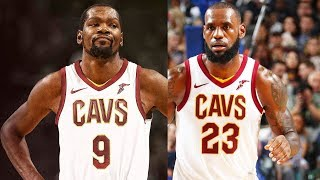 LeBron James and Kevin Durant on the Cavaliers (Parody)