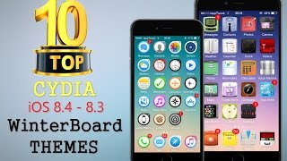 TOP 10 BRAND NEW Cydia WinterBoard Themes For iOS 8.4 / 8.3 / 8 / 7