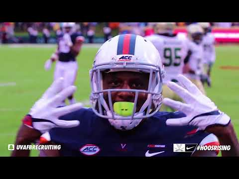2017 William and Mary at University of Virginia Football Highlights(10-28)