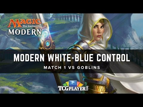 [MTG] Modern White-Blue Control | Match 1 VS Goblins