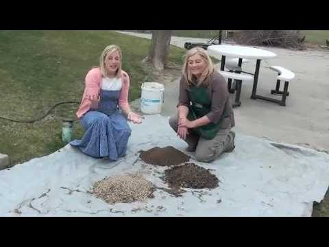 Square Foot Gardening 101: Mixing Melu0027s Mix CORRECTLY!   YouTube
