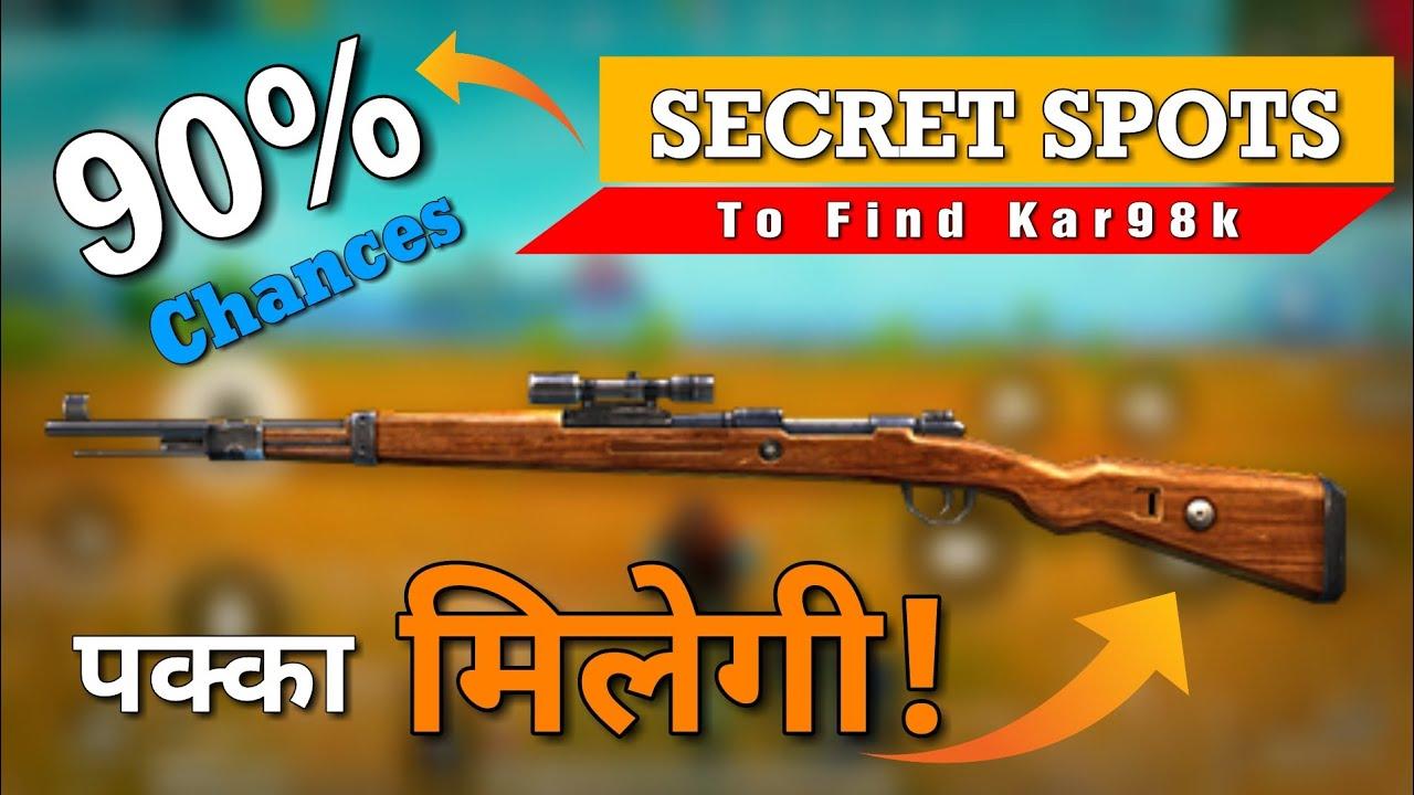 Download PUBG MOBILE: 90% Landing Spots To Get Kar98 in Pubg, Best place to Find Kar98   gamexpro
