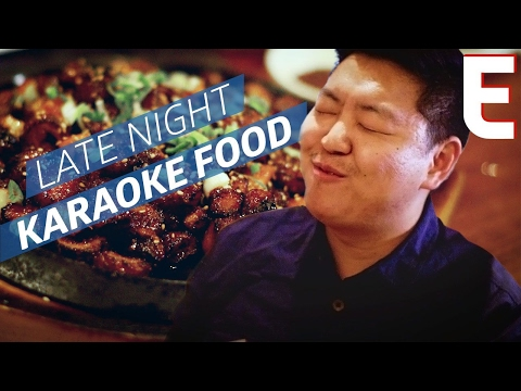 The Best Food for a Late Night Karaoke Session — K-Town