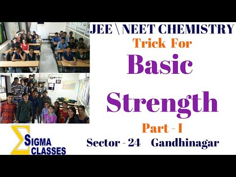 Basic Strength Organic Chemistry  | CHEMISTRY | JEE | NEET | IIT | By Chintan Sir