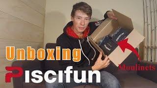 Unboxing: un colis de PISCIFUN sur aliexpress