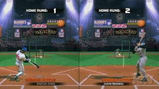 The Bigs Nintendo Wii Gameplay - Home Run Derby