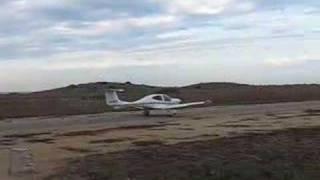 4X-CYC Diamond DA-40 take off Bonim