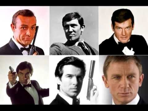 James Bond 007 Temas Musicais Youtube