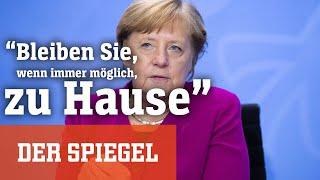 """""""Es zählt jeder Tag"""": Dramatischer Appell der Kanzlerin"""
