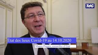 Mauro Poggia, conseiller d'Etat, fait le point sur le Covid-19