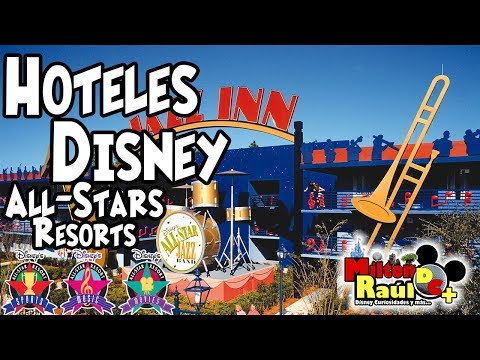 Hoteles Disney - Hoteles Economicos All-Stars Resorts - Milton Raul DC