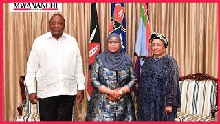 VIDEO: Tanzania President Samia Suluhu addresses Kenyan Parliament