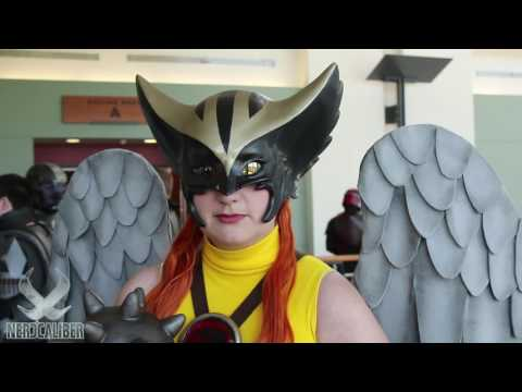 HAWKGIRL! DC Comics Cosplay By AnimeGeer