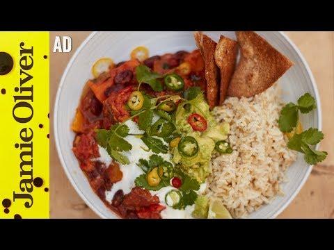 Sweet Potato Chilli | Jamie Oliver – Ad