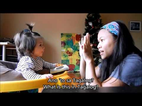 Learn Tagalog Conversation 9: What is this? Body Parts, English Tagalog subtitles