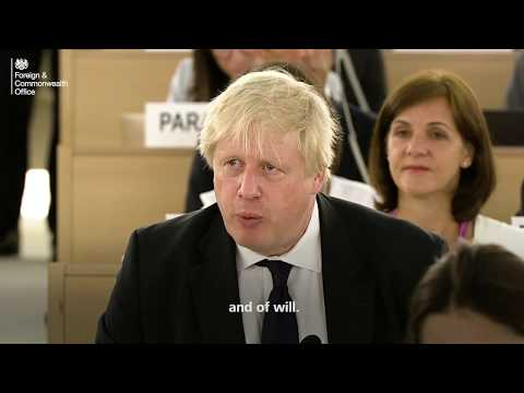 Boris Johnson on the importance of girls' education