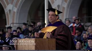 Outgoing Brown College magister José Aranda reflects upon living on the Rice University campus
