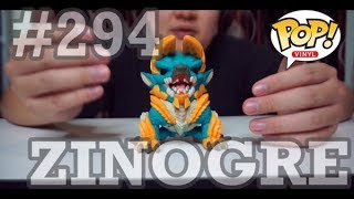 魔物獵人- 雷狼龙 | Monster Hunter - Zinogre | 【開箱影片 Funko Pop 】| #294 ZINOGRE