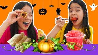HARD VS SOFT FOOD CHALLENGE! | Tran Twins