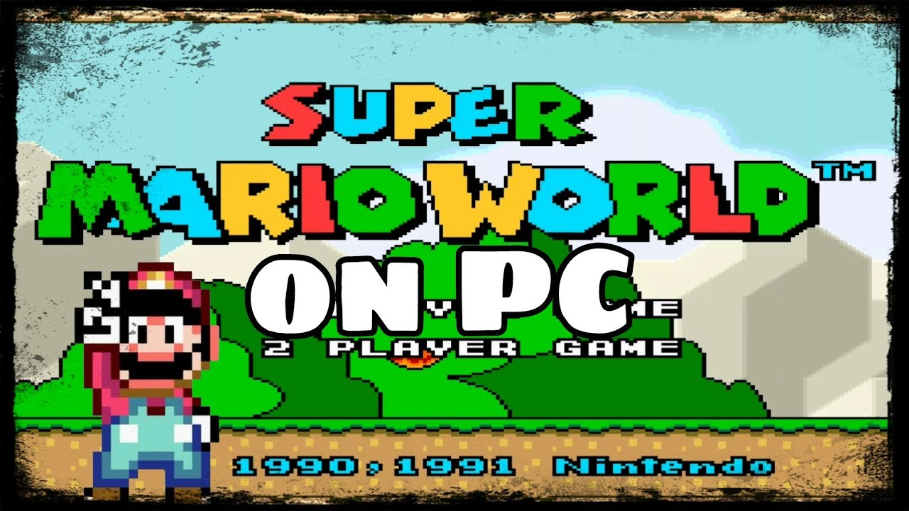 How To Play Super Mario World on Your PC / Chromebook!