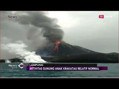 Pasca Erupsi, Aktivitas Gunung Anak Krakatau Normal - iNews Sore 02/10