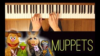 The Muppet Show Theme (Muppets) [Easy-Intermediate Piano Tutorial]