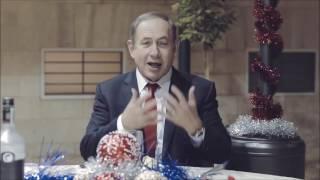 Нетаньяху заговорил по-русски, c новым 2017 годом!