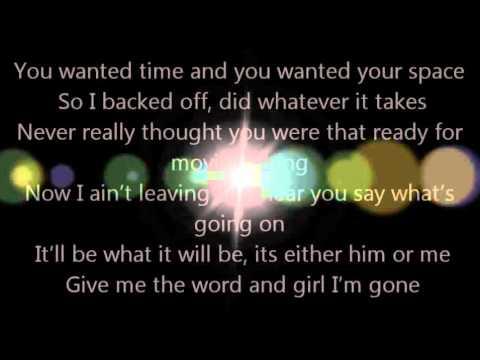 Luke Bryan Someone Else Calling You Baby Lyrics