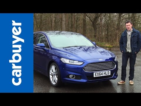 New 2015 Ford Mondeo Fusion hatchback Carbuyer