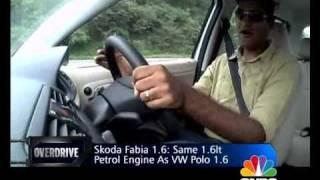 New Skoda Fabia on OVERDRIVE
