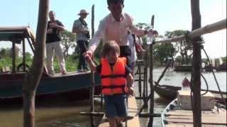 Vietnam 9 - Cambodia: Tonle Sap Lake, Kampong Phluk .mov