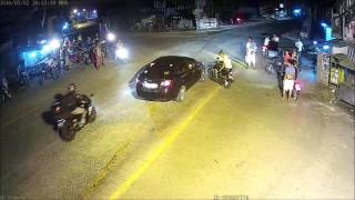 CCTV : road accidents in Arayat, Pampanga Philippines