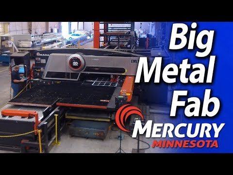 Big metal Fabrications frames, cabinets, chassis, mainframes - Mercury Minnesota