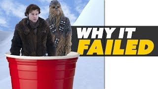 Solo the First LOSS for Star Wars! WHY DID IT FAIL? - Movie News