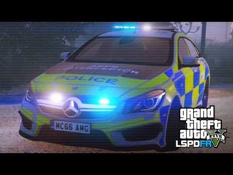 GTA 5 LSPDFR - Brand new Mercedes-Benz patrol car! - The British way #71