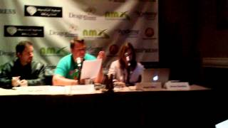 """Live reading excerpt 2 of """"Overtaken"""" by Rish Outfield - Live NMX 2014"""
