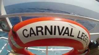 Carnival Legend Western Caribbean Vacation (GoPro Hero 3+ Black Edition)