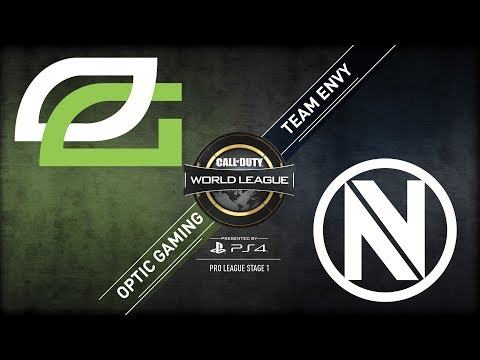 OpTic Gaming vs Team EnVyUs | CWL Pro League Stage 1 Playoffs 2018 | Day 1