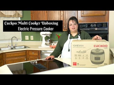 Cuckoo Multi Function Pressure Cooker Unboxing ~ Pressure Cooker Review ~ Amy Learns to Cook