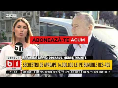 STIRI B1 TV- RCS RDS, SECHESTRU DE APROAPE 14 000 000 LEI, IOAN BENDEI SUB CONTROL JUDICIAR