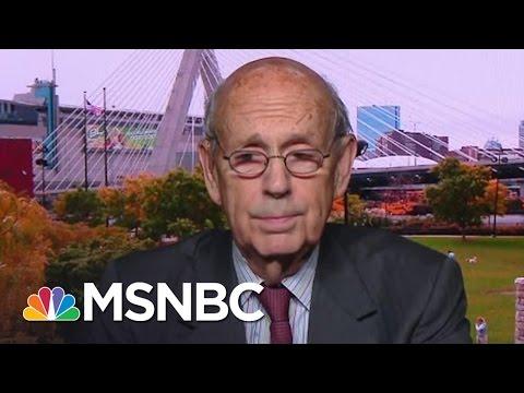Justice Stephen Breyer On 44 SCOTUS Split, Election And Antonin Scalia  Morning Joe  MSNBC