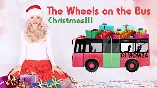 The Wheels on the Bus - Christmas Bus