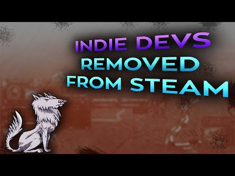 Several Indie Devs removed from Steam