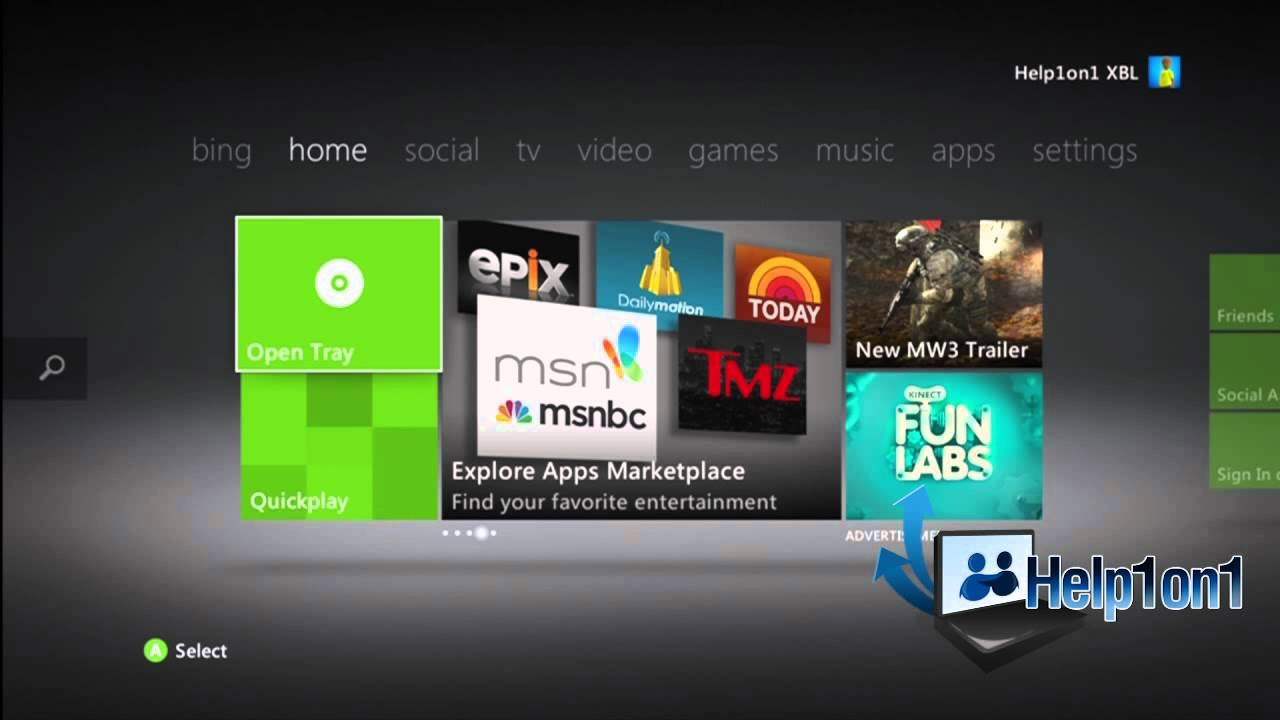 how to sign into live on xbox one