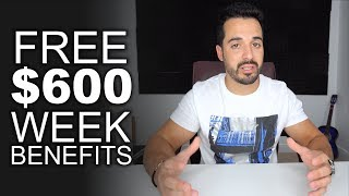 How To Apply f๐r the FREE $600 Weekly - Unemployment Benefit