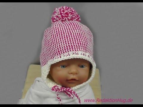 Tunesisch Häkeln Mütze Für Baby Babymütze Von Hatnut 133 Teil 1